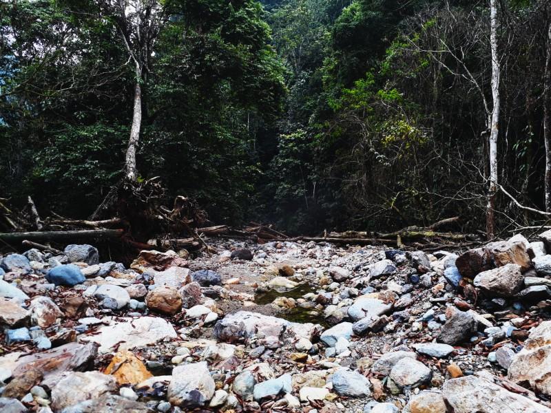 Rất nhiều khe suối đã được tái tạo lại hoàn toàn mới với vẻ đẹp tiềm ẩn sau trận lũ lịch sử.