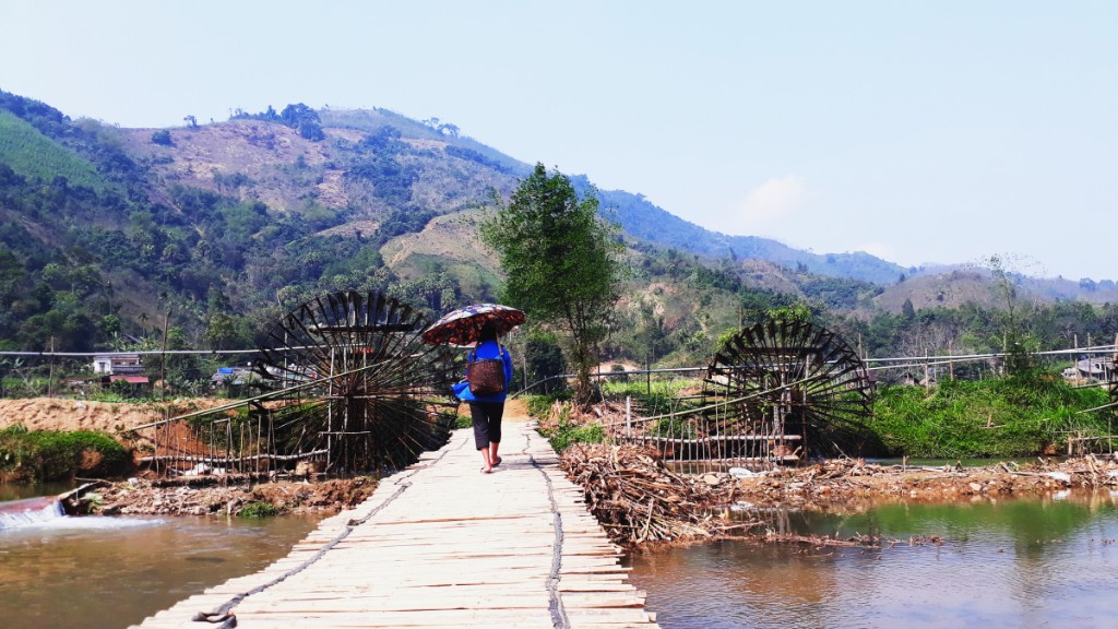 Làng quê xã Khả Cửu, Thanh Sơn
