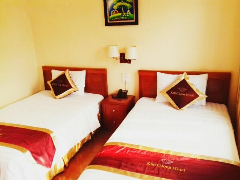 Phòng nghỉ khách sạn Kim Cương Hotel ở Đảo Ngọc Xanh