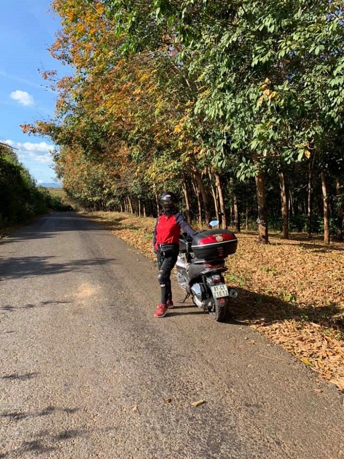 Cô Bích Vân và hành trình khám phá Việt Nam bằng xe motor