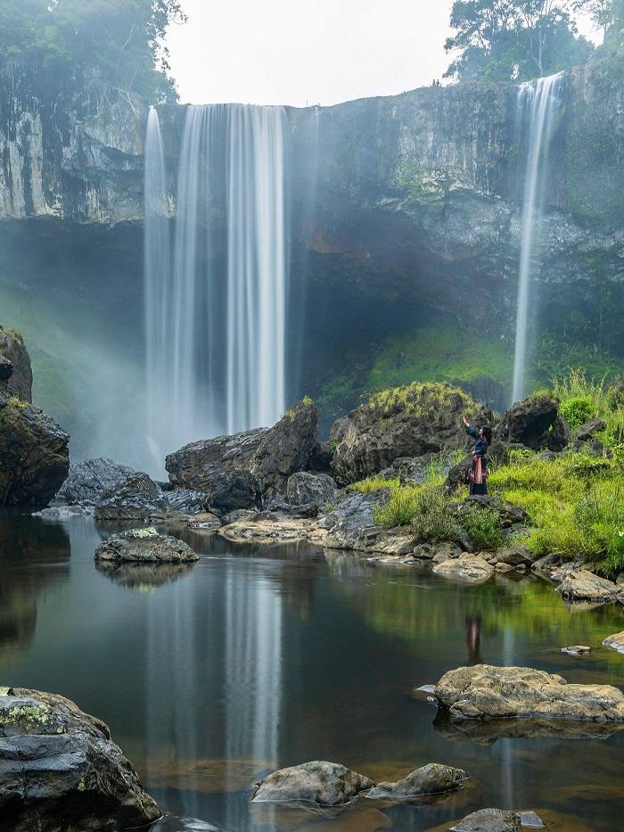 Ngọn thác K50 hùng vĩ giữa đại ngàn Tây Nguyên