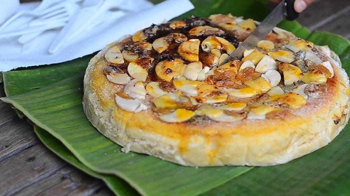 Bibingka là món ăn phổ biến vào dịp lễ Giáng sinh ở Philippines. Nguồn: Lữ hành Việt Nam