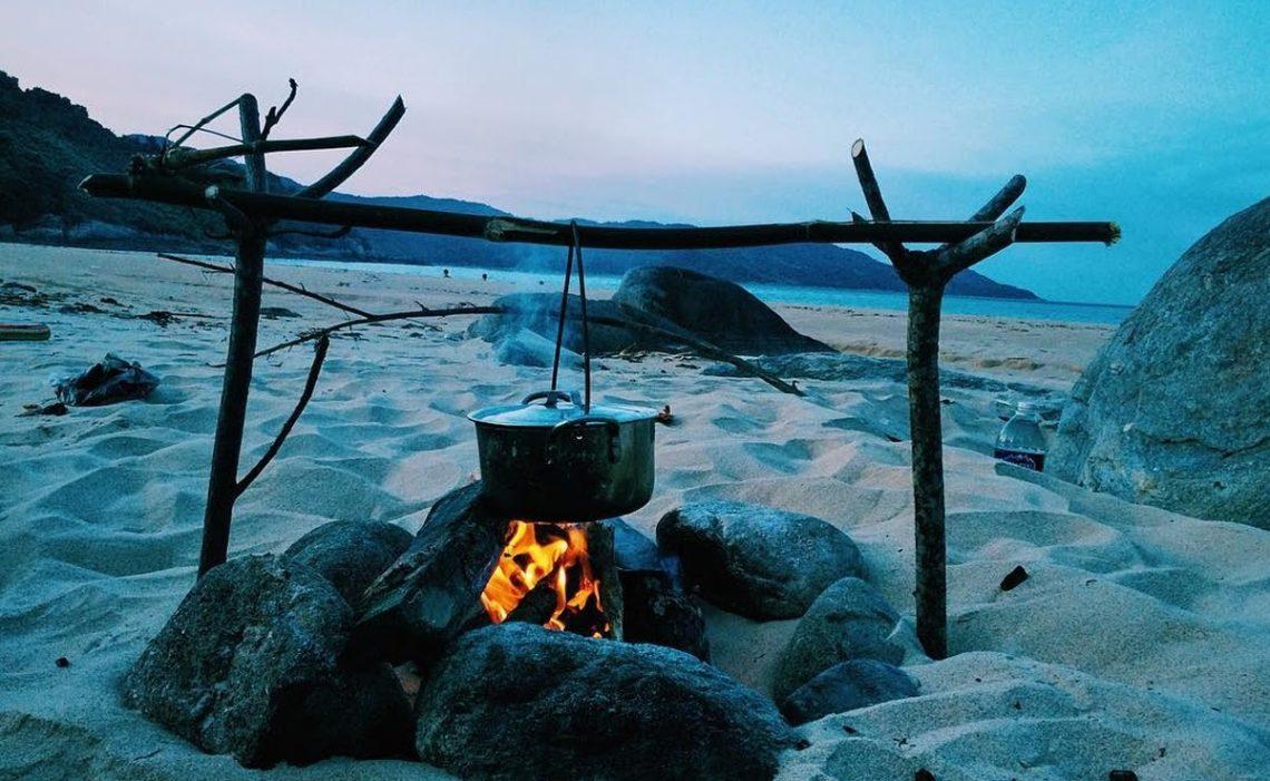 Cắm trại tại làng Vân trải nghiệm khung cảnh bình yên tuyệt đẹp