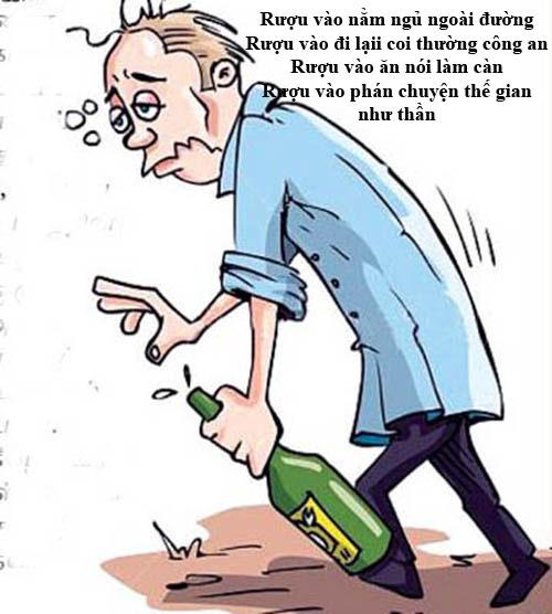 Thơ chế khi say