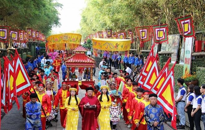Giỗ Tổ Hùng Vương là quốc lễ của người Việt Nam.