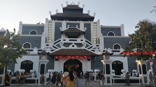 Cổng thành Công viên châu á Đà Nẵng